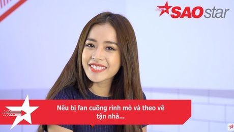 Clip: Chi Pu se phan ung ra sao khi bi fan cuong theo ve tan nha…? - Anh 4