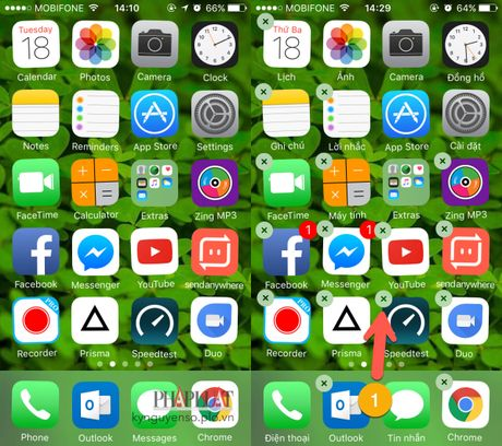 Sua loi khong the xoa ung dung tren iPhone - Anh 3
