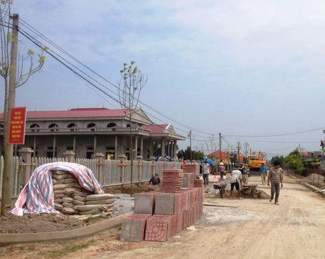 Ninh Binh: Doanh nghiep chung tay xay dung nong thon moi - Anh 1