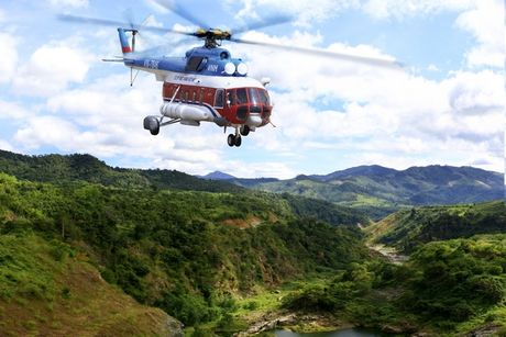 May bay truc thang cho 3 nguoi mat tich tai tinh Ba Ria - Vung Tau - Anh 1