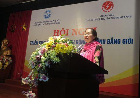 CD Bo Thong tin va Truyen thong: Ti le nu tham gia BCHCD cac cap giai doan 2016 - 2020 dat 30% tro len - Anh 1