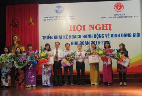 CD Bo Thong tin va Truyen thong: Ti le nu tham gia BCHCD cac cap giai doan 2016 - 2020 dat 30% tro len - Anh 2