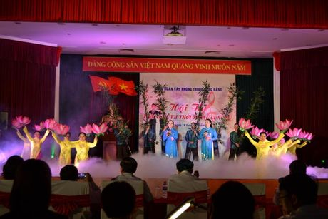 CD Van phong Trung uong Dang: To chuc Hoi thi 'Van nghe va thoi trang cong so' - Anh 1