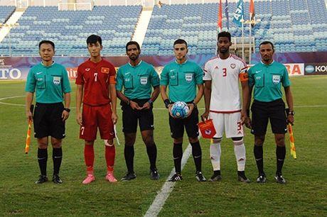 U19 Viet Nam thiet hai nang ne sau tran gap U19 UAE - Anh 1