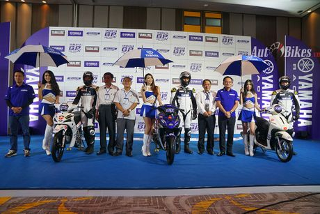 Lan dau tien co Giai dua xe Yamaha GP hon 100 phan khoi tai Viet Nam - Anh 1