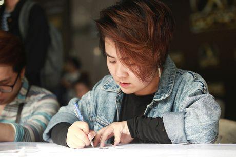 Chung Huyen Thanh ho tong ban trai hot boy di casting show am nhac - Anh 15