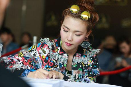 Chung Huyen Thanh ho tong ban trai hot boy di casting show am nhac - Anh 16