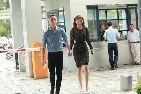 Chung Huyen Thanh ho tong ban trai hot boy di casting show am nhac - Anh 1