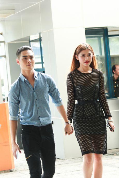 Chung Huyen Thanh ho tong ban trai hot boy di casting show am nhac - Anh 2