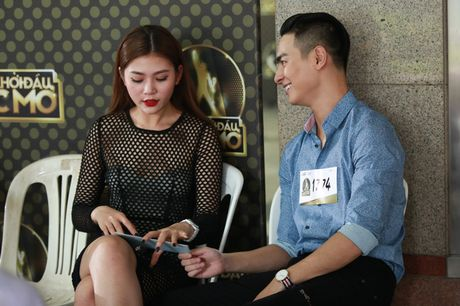Chung Huyen Thanh ho tong ban trai hot boy di casting show am nhac - Anh 4