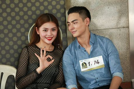 Chung Huyen Thanh ho tong ban trai hot boy di casting show am nhac - Anh 5
