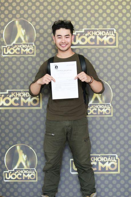 Chung Huyen Thanh ho tong ban trai hot boy di casting show am nhac - Anh 7