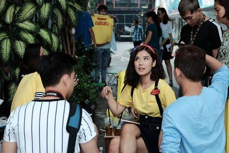 Hoang Yen Chibi nhi nhanh tai hau truong quay clip Dance moi - Anh 4