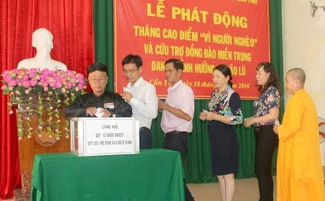 Can Tho: 3 ty dong ung ho dong bao mien Trung - Anh 1