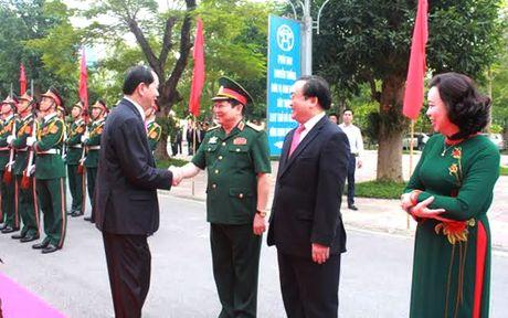Chu tich nuoc: Bao ve tuyet doi an toan Thu do Ha Noi - Anh 1