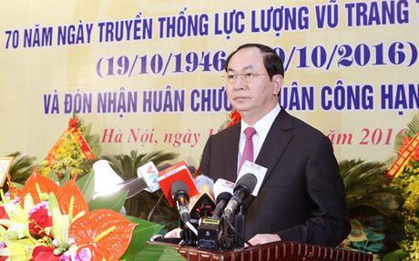 Chu tich nuoc: Bao ve tuyet doi an toan Thu do Ha Noi - Anh 2