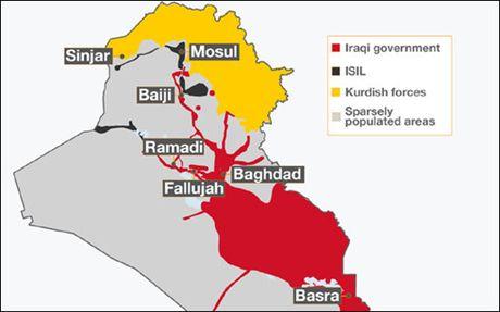 Toan canh ngay dau quan doi Iraq cong pha thanh tri IS o Mosul - Anh 2