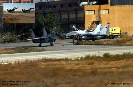 Mang ten lua R-77, tiem kich MiG-29 cua Syria van kho song - Anh 1