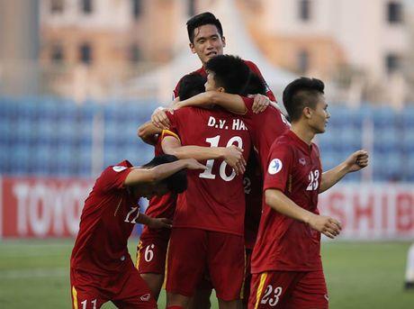 U19 Viet Nam dat muc tieu danh bai U19 Iraq - Anh 1