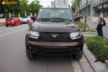 Xe Nga UAZ Pickup gia 500 trieu co 'song' duoc tai VN? - Anh 2