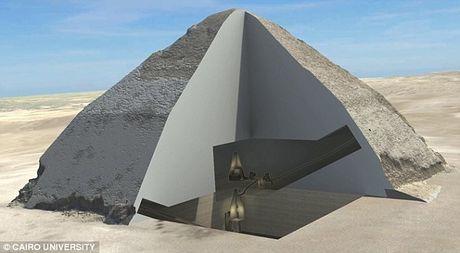 Bat ngo hai khoang bi an trong Dai kim tu thap Giza - Anh 8