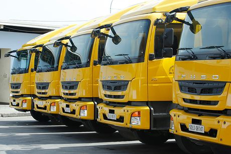 Fuso Fighter FJ 24 gia 1,2 ty gia nhap DHL Supply Chain - Anh 1