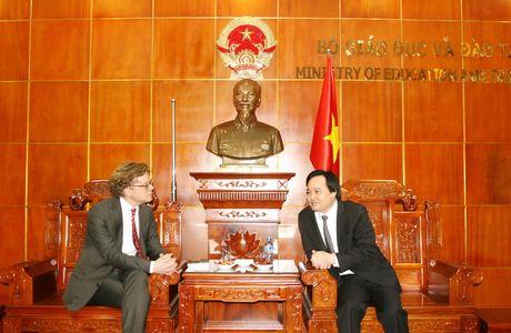 Thuc day hop tac GD-DT Viet Nam – Thuy Dien - Anh 1
