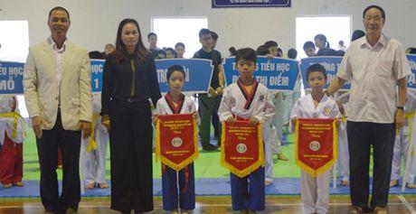Tren 200 VDV du giai taekwondo hoc sinh quan Nam Tu Liem - Anh 2