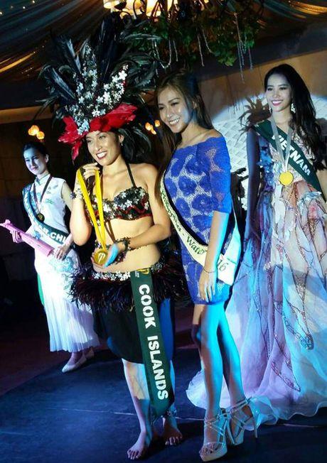 Nam Em gianh Huy chuong Bac phan thi tai nang Miss Earth 2016 - Anh 2