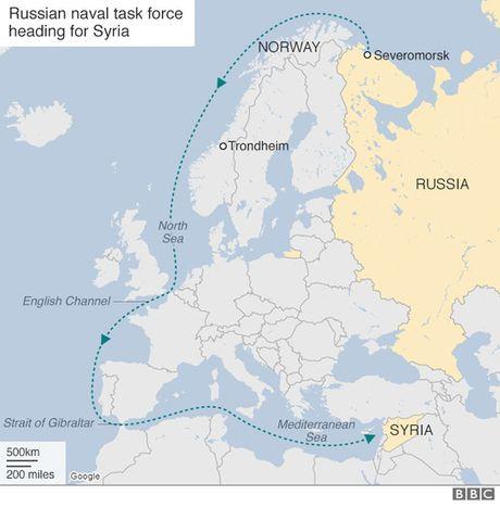 Nga trien khai ham doi khung toi Syria - Anh 1