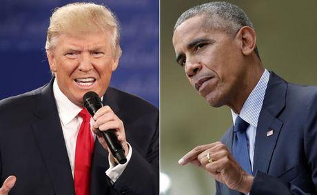 Tong thong Obama: Ngung than van di Donald Trump - Anh 1