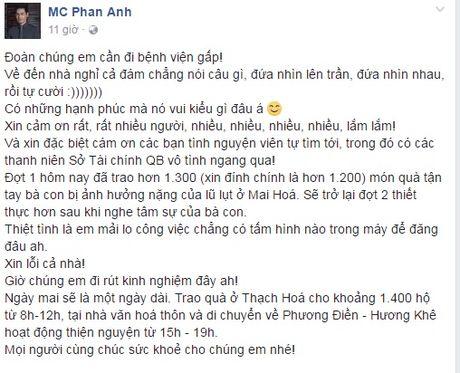 Hang trieu nguoi dan cam dong 'rung rung nuoc mat' truoc tam long 'bo tat' cua MC Phan Anh - Anh 7