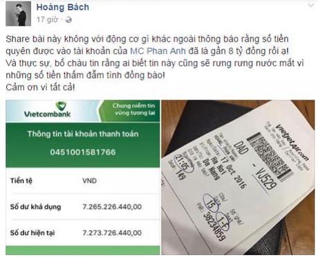 Hang trieu nguoi dan cam dong 'rung rung nuoc mat' truoc tam long 'bo tat' cua MC Phan Anh - Anh 9