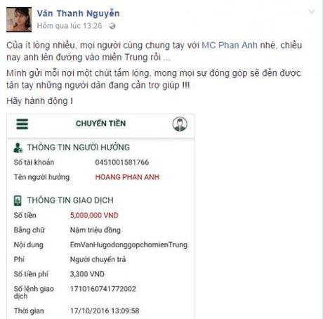 Hang trieu nguoi dan cam dong 'rung rung nuoc mat' truoc tam long 'bo tat' cua MC Phan Anh - Anh 10