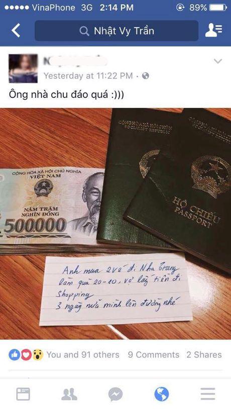 """20/10: Chi em dua nhau """"song ao"""": Lo dien ong chong co toi chuc ba vo? - Anh 5"""