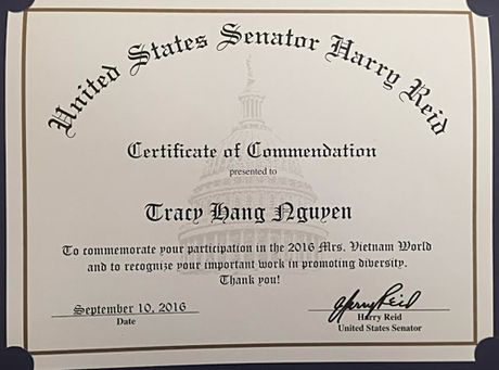 Tracy Hang Nguyen dai dien Viet Nam du thi Mrs World 2016 - Anh 6