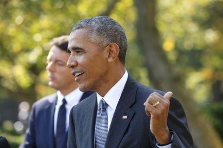 Obama khuyen Trump ngung keu ca - Anh 1