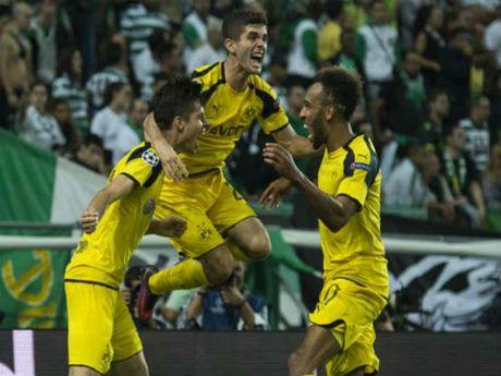 Sporting - Dortmund: Khoi dau hoan hao - Anh 1