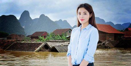 Khong ho hao am i, Ky Duyen am tham gop 150 trieu cho vung lu - Anh 1