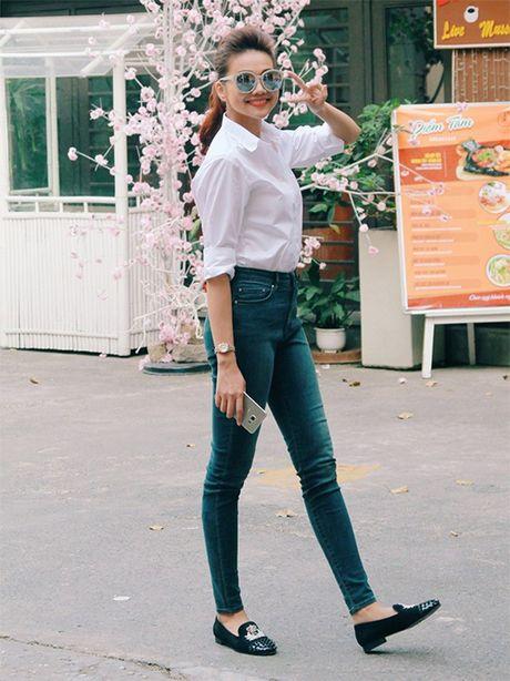 Pham Huong, Thu Thao: Da dep roi thi mac style don gian den may cung la dinh cao nhan sac - Anh 13