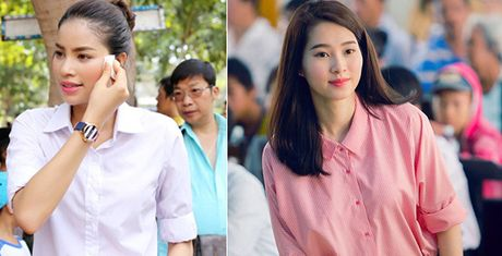 Pham Huong, Thu Thao: Da dep roi thi mac style don gian den may cung la dinh cao nhan sac - Anh 1