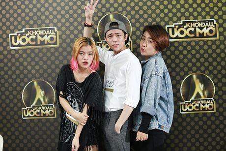 Chung Huyen Thanh dong vien ban trai thu suc voi cuoc thi 'Khoi dau uoc mo' - Anh 8