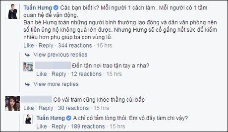Tuan Hung dap tra khi bi che quyen duoc tien ung ho kem xa MC Phan Anh - Anh 3