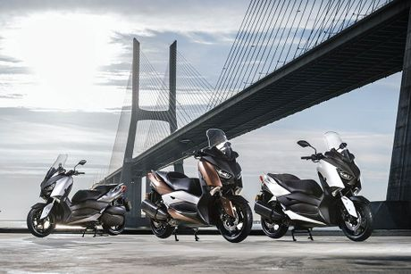 Trinh lang tay ga Yamaha X-MAX 300 2017 hoan toan moi - Anh 2