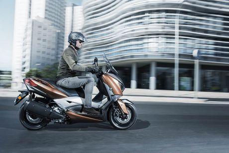 Trinh lang tay ga Yamaha X-MAX 300 2017 hoan toan moi - Anh 4
