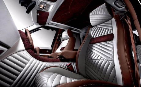 Choang voi cach do noi that Range Rover Sport cua Vilner - Anh 1