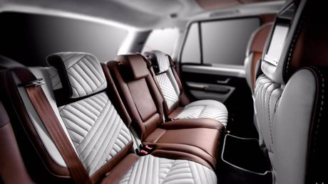 Choang voi cach do noi that Range Rover Sport cua Vilner - Anh 2