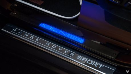 Choang voi cach do noi that Range Rover Sport cua Vilner - Anh 9