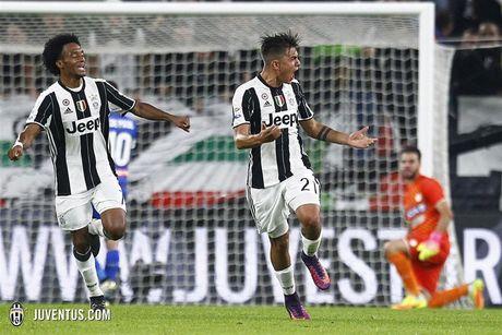 Choi thieu nguoi, Juventus van danh bai Lyon tren san khach - Anh 1