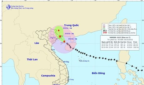 Bao vao Quang Ninh 16h chieu nay, canh bao sieu bao Haima ngoai khoi Philippines - Anh 1
